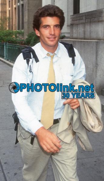 John F. Kennedy Jr, 1993, Photo By John Barrett/PHOTOlink