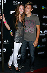 Actress Daveigh Chase and Matt Cutshall arrive at Flo Live Mobile TV Presents X-Games After Party presented by  Flo Live Mobile TV at The Roxy on August 1, 2008 in West Hollywood, California.