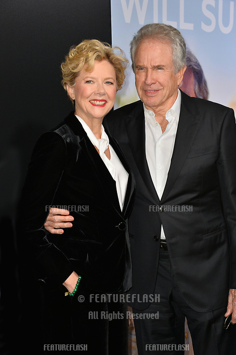 """LOS ANGELES, CA. September 13, 2018: Annette Bening & Warren Beatty at the premiere for """"Life Itself"""" at the Cinerama Dome.<br /> Picture: Paul Smith/Featureflash"""