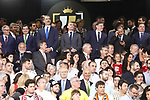 King Felipe VI of Spain and RFEF's President Luis Rubiales during Spanish King's Cup Final match. May 25,2019. (ALTERPHOTOS/Carrusan)