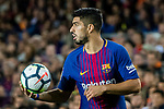 Luis Alberto Suarez Diaz of FC Barcelona in action during the La Liga match between FC Barcelona vs RCD Espanyol at the Camp Nou on 09 September 2017 in Barcelona, Spain. Photo by Vicens Gimenez / Power Sport Images