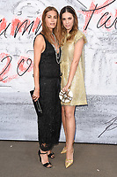 Yasmin and Amber Le Bon<br /> arriving for the Serpentine Summer Party 2018, Hyde Park, London<br /> <br /> ©Ash Knotek  D3409  19/06/2018