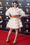 Ruth Llopis attends red carpet of Feroz Awards 2018 at Magarinos Complex in Madrid, Spain. January 22, 2018. (ALTERPHOTOS/Borja B.Hojas)