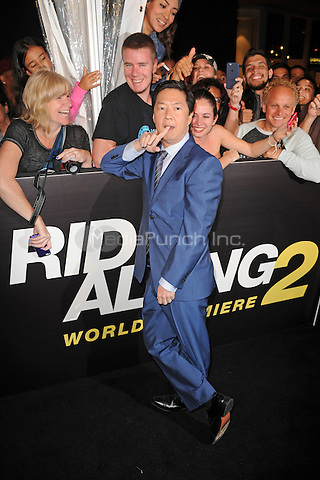 MIAMI BEACH, FL - JANUARY 06: Ken Jeong attends the world premiere of 'Ride Along 2' at Regal South Beach Cinema on January 6, 2016 in Miami Beach, Florida. Credit: mpi04/MediaPunch