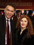 """Brian Stokes Mitchell, Bernadette Peters attends the Broadway Opening Night Performance of """"To Kill A Mockingbird"""" on December 13, 2018 at The Shubert Theatre in New York City."""