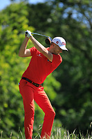 Lukas Lipold (AUT) during the third round of the European Amateur Championship played at the Royal Hague Golf and Country Club, The Hague, Netherlands. 29/06/2018<br /> Picture: Golffile | Phil Inglis<br /> <br /> All photo usage must carry mandatory copyright credit (&copy; Golffile | Phil Inglis)