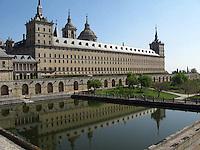 El Escorial Monastery in Madrid Spain