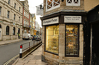 BNPS.co.uk (01202 558833)<br /> Pic: BNPS<br /> <br /> PICTURED: Georgian Gems in Swanage.<br /> <br /> This is the shocking moment cocky thieves stage a lengthy raid on a jewellers in front of dozens of pub drinkers.<br /> <br /> A crowd of more than 20 customers gathered outside and watched as the five masked men armed with machetes broke into the premises 30ft away.<br /> <br /> The brazen gang spent five minutes calmly carrying out the raid that was caught on the pub's CCTV and camera phones filmed by witnesses.<br /> <br /> Members of the public were threatened with the deadly weapons and acid spray if they tried to intervene.<br /> <br /> One brave woman was seen to confront them but backed off when threatened with a crowbar.