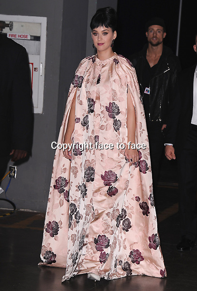 LOS ANGELES, CA - JANUARY 27:  Katy Perry arrives at &quot;The Night That Changed America: A Grammy Salute to The Beatles&quot; at the Los Angeles Convention Center West Hall on January 27, 2014 in Los Angeles, California. <br /> Credit: MediaPunch/face to face<br /> - Germany, Austria, Switzerland, Eastern Europe, Australia, UK, USA, Taiwan, Singapore, China, Malaysia, Thailand, Sweden, Estonia, Latvia and Lithuania rights only -