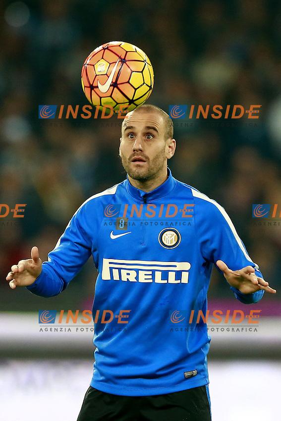 Rodrigo Palacio Inter,  <br /> Napoli 30-11-2015 Stadio San Paolo <br /> Football Calcio Serie A 2015/2016 Napoli - Inter<br /> Foto Cesare Purini / Insidefoto