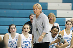 02 November 2016: UNC head coach Sylvia Hatchell. The University of North Carolina Tar Heels hosted the Carson-Newman University Lady Eagles at Carmichael Arena in Chapel Hill, North Carolina in a 2016-17 NCAA Women's Basketball exhibition game. UNC won the game 96-70.
