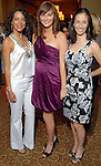 Sandra Munoz, Miriam Beer and Ana De la Peza at the Latin Women's Initiative luncheon at the InterContinental Houston Friday May 08,2009.(Dave Rossman/For the Chronicle)