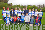 Under 13's Tralee Rugby Club Team. front l-r Louis Byrne, John Kelliher, Sean Capeless, Jim Cadogan, Tadgh Hurlihy, Daragh O'Keeffe, Harry Emerson, Ian McCarthy, Back l-r Michael Kerins, Jack Rogers, Tylan Zuppo, David Burke, Daragh Corr, Seamus Hearty, Ben Quilter Luke O'Carroll, Cillian Keating, Barry Foley,, Niall Hurley at the Tralee Rugby Club Blitz at O'Dowd Park on Saturday