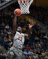 Jabari Bird of California shoots the ball during the game against Fresno State at Haas Pavilion in Berkeley, California on December 14th, 2013.  California defeated Fresno State, 67-56.
