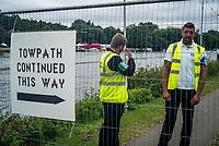 Henley Royal Regatta, Henley on Thames, Oxfordshire, 28 June - 2 July 2017.  Thursday  11:44:51   29/06/2017  [Mandatory Credit/Intersport Images]<br /> <br /> Rowing, Henley Reach, Henley Royal Regatta.<br /> <br /> The Upper Thames Rowing Club Towpath Diversion.