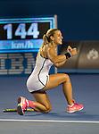 Dominika Cibulkova (SVK) defeats Victoria Azarenka (BUL) 6-2, 3-6, 6-3