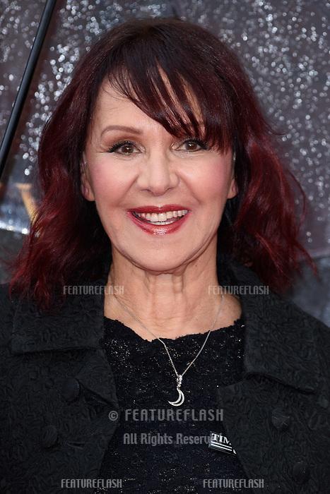 Arlene Phillips arriving for the Olivier Awards 2018 at the Royal Albert Hall, London, UK. <br /> 08 April  2018<br /> Picture: Steve Vas/Featureflash/SilverHub 0208 004 5359 sales@silverhubmedia.com