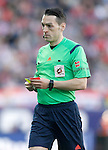 Spanish referee Eduardo Prieto Iglesias during La Liga match. April 17,2016. (ALTERPHOTOS/Acero)