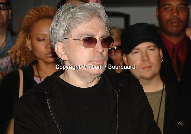 BLONDIE ( Chris Stein ) inducted in the Hollywood's RockWalk  in Los Angeles. May 22, 2006.