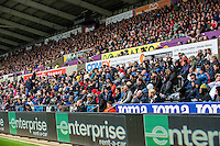 during the Premier League match between Swansea City and Hull City at the Liberty Stadium, Swansea on Saturday August 20th 2016