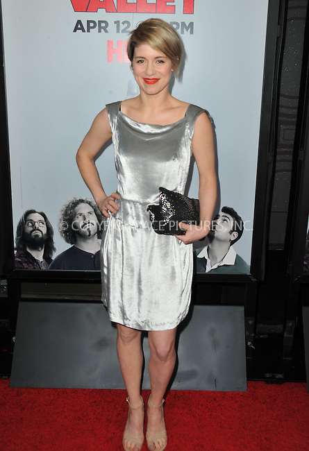 WWW.ACEPIXS.COM<br /> <br /> April 2 2015, LA<br /> <br /> Alice Wetterlund arriving at the premiere of HBO's 'Silicon Valley' 2nd Season at the El Capitan Theatre on April 2, 2015 in Hollywood, California. <br /> <br /> <br /> By Line: Peter West/ACE Pictures<br /> <br /> <br /> ACE Pictures, Inc.<br /> tel: 646 769 0430<br /> Email: info@acepixs.com<br /> www.acepixs.com