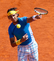 Rafael NADAL (ESP) against Fernando VERDASCO (ESP) in the final. Rafael Nadal beat Fernando Verdasco 6-0 6-1..International Tennis - 2010 ATP World Tour - Masters 1000 - Monte-Carlo Rolex Masters - Monte-Carlo Country Club - Alpes-Maritimes - France..© AMN Images, Barry House, 20-22 Worple Road, London, SW19 4DH.Tel -  + 44 20 8947 0100.Fax - + 44 20 8947 0117