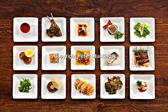 Canapes at the Park Hyatt Saigon