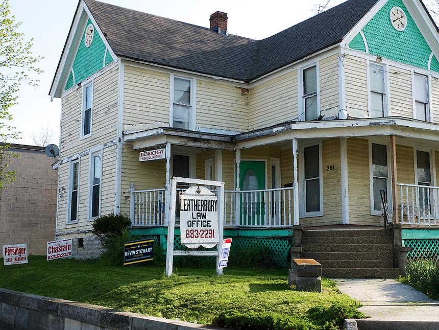 Democratic headquarters, Salem, IN