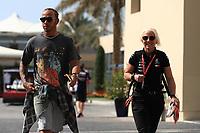 28th November 2019; Yas Marina Circuit, Abu Dhabi, United Arab Emirates; Formula 1 Abu Dhabi Grand Prix, arrivals day; Mercedes AMG Petronas Motorsport, Lewis Hamilton - Editorial Use