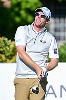 David Hearn (CAN) watches his tee shot on 15 during the round 1 of the Dean &amp; Deluca Invitational, at The Colonial, Ft. Worth, Texas, USA. 5/25/2017.<br /> Picture: Golffile | Ken Murray<br /> <br /> <br /> All photo usage must carry mandatory copyright credit (&copy; Golffile | Ken Murray)