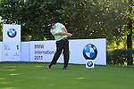 Shane Lowry (IRL) tees off on the 1st tee during Day 2 of the BMW International Open at Golf Club Munchen Eichenried, Germany, 24th June 2011 (Photo Eoin Clarke/www.golffile.ie)