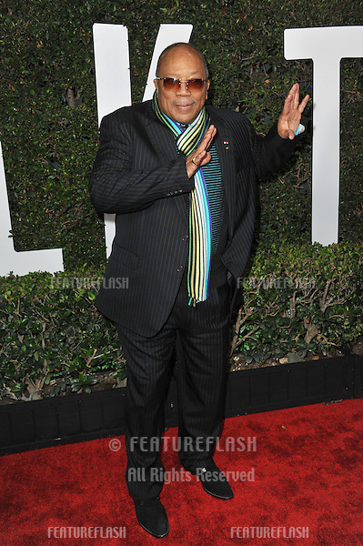 Quincy Jones at the Los Angeles premiere of &quot;Mandela: Long Walk to Freedom&quot; at the Cinerama Dome, Hollywood.<br /> November 11, 2013  Los Angeles, CA<br /> Picture: Paul Smith / Featureflash