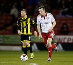 Neill Collins of Sheffield Utd - English League One - Sheffield Utd vs Burton Albion - Bramall Lane Stadium - Sheffield - England - 1st March 2016 - Pic Simon Bellis/Sportimage