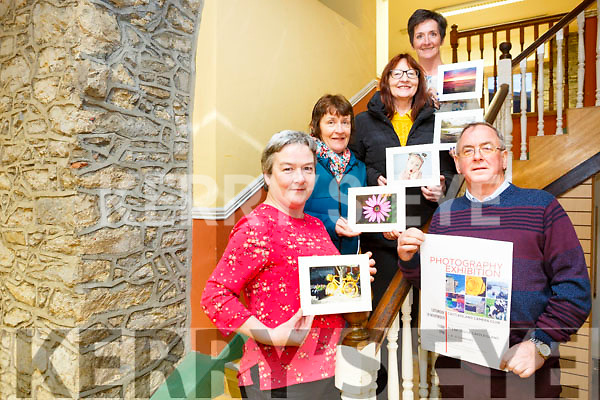 Launching charity photography exhibition and Coffee Morning in aid of Glebe Lodge Castleisland  at  JK O'Connors Lower Main Street on Saturday 18th November 11am to 2pm. Pictured Pat Hartnett, Nora Feely, Sheila Hanrahan, Annette O Donoghue, Breda McGaley
