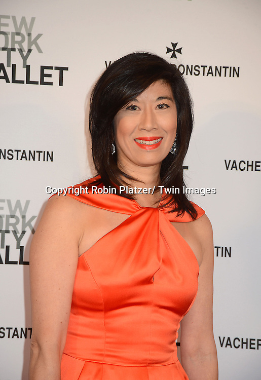 Andrea Jung attends the New York City Ballet Spring 2013  Gala on May 8, 2013 at The David H Koch Theater in LIncoln Center in New York City.