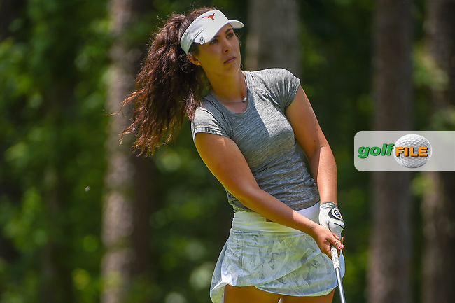 Sophia Schubert (a)(USA) watches her tee shot on 2 during round 1 of the U.S. Women's Open Championship, Shoal Creek Country Club, at Birmingham, Alabama, USA. 5/31/2018.<br /> Picture: Golffile | Ken Murray<br /> <br /> All photo usage must carry mandatory copyright credit (© Golffile | Ken Murray)