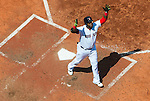BOSTON, MA - MAY 14:   David Ortiz #34 of the Boston Red Sox reacts after hitting a home run against  the Houston Astros in the third inning on May 14, 2016  at Fenway Park in Boston, Massachusetts. (Photo by Michael Ivins/Boston Red Sox/Getty Images) *** Local Caption *** David Ortiz