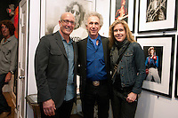 """Bob Gruen at the his """"Rock Seen"""" photo exhibition at Art629 in New York City. May 4, 2012. ©Kristen Driscoll/MediaPunch Inc."""