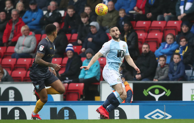 Blackburn Rovers' Craig Conway<br /> <br /> Photographer Rachel Holborn/CameraSport<br /> <br /> The EFL Sky Bet Championship - Blackburn Rovers v Sheffield Wednesday - Saturday 1st December 2018 - Ewood Park - Blackburn<br /> <br /> World Copyright © 2018 CameraSport. All rights reserved. 43 Linden Ave. Countesthorpe. Leicester. England. LE8 5PG - Tel: +44 (0) 116 277 4147 - admin@camerasport.com - www.camerasport.com
