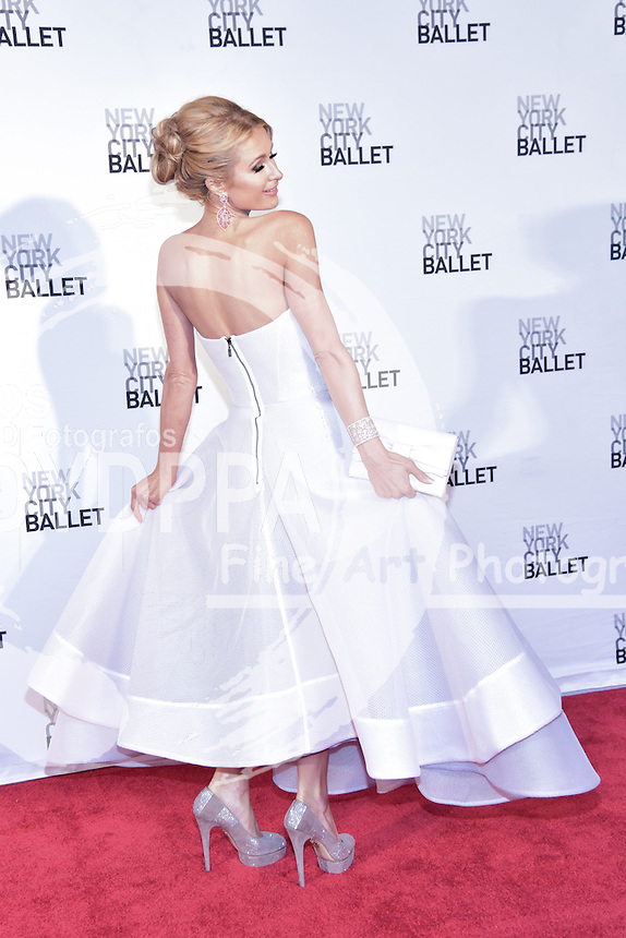 **ALL ROUND PICTURES FROM SOLARPIX.COM**<br /> **SOLARPIX RIGHTS - UK, AUSTRALIA, DENMARK, PORTUGAL, S. AFRICA, SPAIN &amp; DUBAI (U.A.E) &amp; ASIA (EXCLUDING JAPAN) ONLY**<br /> Caption:<br /> Paris Hilton attends The 2016 New York City Ballet Spring Gala - David H. Koch Theatre at Lincoln Centre in New York City<br /> This pic:Paris Hilton<br /> **U.K ONLINE USAGE &pound;25 PER PIC**<br /> JOB REF: 19220   PHZ/Sangiuliano  DATE:04.05.16<br /> **MUST CREDIT SOLARPIX.COM AS CONDITION OF PUBLICATION**<br /> **CALL US ON: +34 952 811 768**
