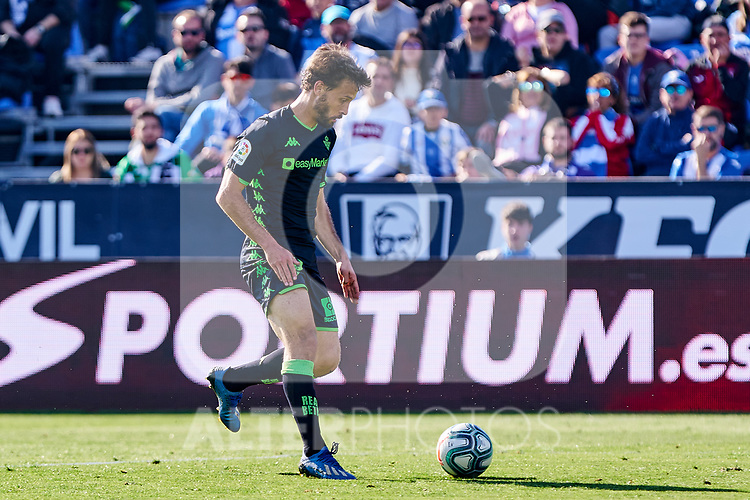 Sergio Canales of Betis Balompie during La Liga match between CD Leganes and Real Betis Balompie at Butarque Stadium in Leganes, Spain. February 16, 2020. (ALTERPHOTOS/A. Perez Meca)