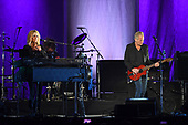 HOLLYWOOD FL - NOVEMBER 11: Christine McVie and Lindsey Buckingham of Buckingham McVie perform at Hard Rock Live held at the Seminole Hard Rock Hotel & Casino on November 11, 2017 in Hollywood, Florida. : Credit Larry Marano © 2017