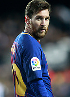 FC Barcelona's Leo Messi during Spanish King's Cup Semi Final 2nd match. February 8,2018. (ALTERPHOTOS/Acero)