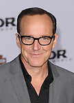 "Clark Gregg at the premiere of Marvel's ""Thor The Dark World"" held at El Capitan Theatre Los Angeles, Ca. November 4, 2013"