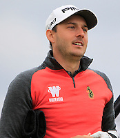 Matthew Nixon (ENG) on the 17th tee during Round 4 of the 2015 Alfred Dunhill Links Championship at the Old Course in St. Andrews in Scotland on 4/10/15.<br /> Picture: Thos Caffrey | Golffile