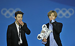 Suoer Junior D&E. K Pop concert. Pyeongchang Olympic plaza. Pyeongchang. Pyeongchang2018 winter Olympics. Republic of Korea. 24/02/2018. ~ MANDATORY CREDIT Garry Bowden/SIPPA - NO UNAUTHORISED USE - +44 7837 394578