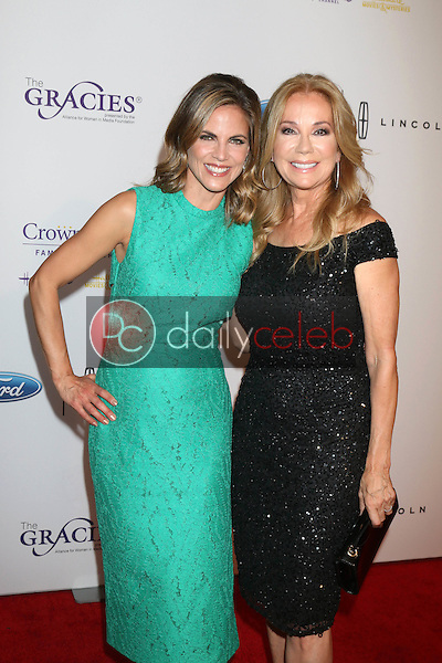 Natalie Morales, Kathie Lee Gifford<br /> at the 41st Annual Gracie Awards Gala, Beverly Wilshire Hotel, Beverly Hills, CA 05-24-16<br /> David Edwards/DailyCeleb.com 818-249-4998