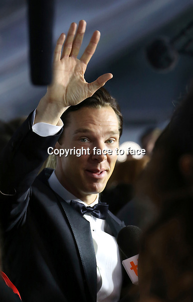 Benedict Cumberbatch attending the 2013 Tiff Film Festival Red Carpet Arrivals for &quot;The Fifth Estate&quot; at Roy Thomson Hall on September 5, 2013 in Toronto, Canada.<br /> Credit: McBride/face to face