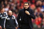 Manager of Sunderland, Gus Poyet - Manchester United vs. Sunderland - Barclay's Premier League - Old Trafford - Manchester - 28/02/2015 Pic Philip Oldham/Sportimage