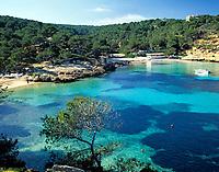 Spanien, Balearen, Mallorca, Portals Vells: Bucht und Straende | Spain, Balearic Islands, Mallorca, Portals Vells: bay and beaches
